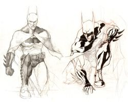 Batman Sketches by GavinMichelli
