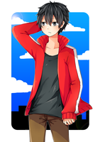 yo its shintaro by bluepluu