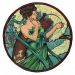 Months - April by Mucha by AnnaSulikowska