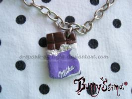 Milka chocolate by A-Spark-Of-Light