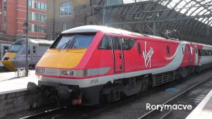 Virgin Trains East Coast 91124 at King's Cross by The-Transport-Guild