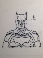 Batman Sketch by SPC5297