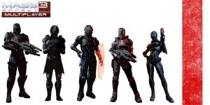 Mass Effect 3 Special Forces by MagnumMaster