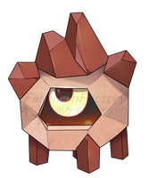 Copper Furnace Pokemon by harikenn