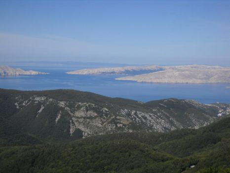 Hilltop View of the Adriatic Sea by BlissfullyBonkers91