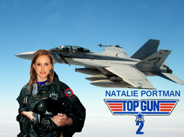 Natalie Portman for Top Gun 2 by BlueWolfRanger95