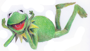 Kermit the Frog by R-R-RADICAL
