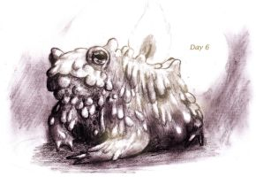 Day 6- Toadles by ReenaCat