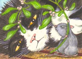 ACEO-Pucker Up, Babycakes by KootiesMom