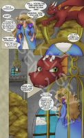 Dragon page one redux by magewish4