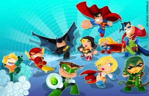 DC Good Guys by vancamelot