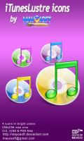 iTunesLustre icons by Mayosoft