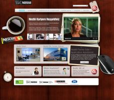nestle web v3 by feartox