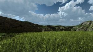 Upgrading lighting and grass terrains tutorials by davidbrinnen