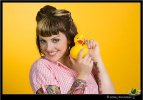 rubber duckie by MissLindseyLou