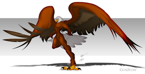 Bald Eagle Concept by GunZcon
