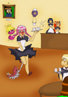 Maid for Miltank by kiiechan