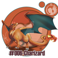 #006-Charizard by SoraValtieri