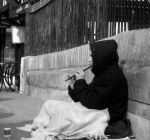 Candid shot, flute player by Ben070