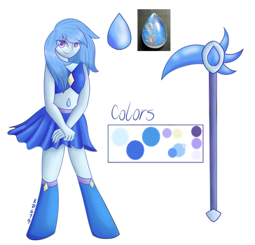 Blue Moonstone Updated Ref by KittyDragon619