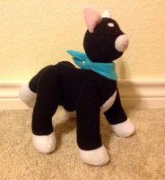 Buttcheeks plushie commission by FoxTone
