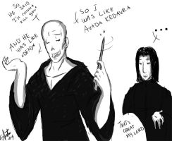 So I was like Avada Kedavra by Mispeled