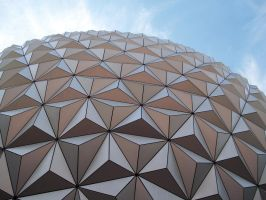 spaceship earth by slvrwlf1