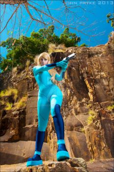 Samus by MoonFoxUltima by jkdimagery