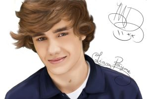 Liam Payne- One Direction-DRAWING by AngelNightmare1441