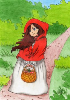 Hey there Little Red Riding Hood... by BatiaKatsuo