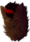 :PC: Fursona as a wolf by YumiTheWolf