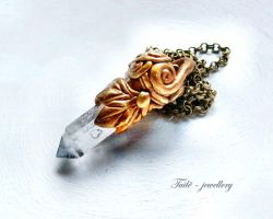 The secret phial of the princess by Tuile-jewellery
