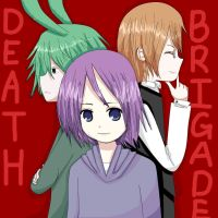 B-day Gift : Death Brigade by AikiYukii