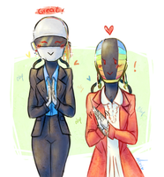 Daft Punk: Interstella 5555 by Morisaurus