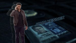 Almost Human - John Kennex wp by ViraMors