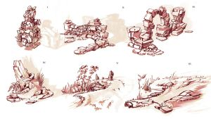 Old Havenbrook and Feverlands Concepts by Domen-Art