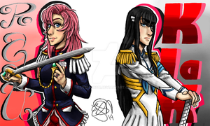 The Queen and Prince... of Tassles by utena11221