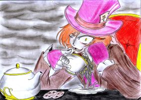 ME THE MAD HATTER by king-alucardo
