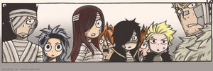 EH?!, Fairy Tail ch325 coloring by AnnaHiwatari
