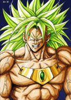 the mighty Broly by BK-81