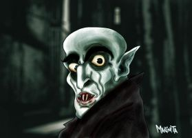 Nosferatu the Vampire by Makinita by Makinita