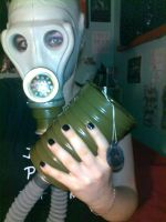 Russian Gas Mask by DoomChild11