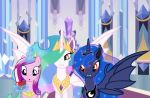 Princess Celestia and Princess Luna Bats! by CaribaHeine372