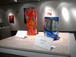 glass at the gallery show by PonderosaPower