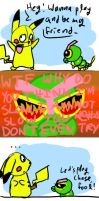 Caterpie Is Not Slow by golden-3point14