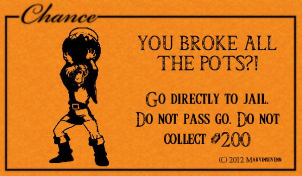 Chance Card Go to Jail by MARVINSEVENN