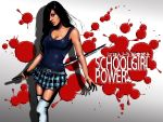 Schoolgirl Power Colored by ElConsigliere
