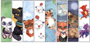 Bookmarks Round 1 by Starrydance
