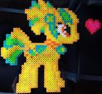 Gift: Citrus Twist Perler by Colonel-Majora-777