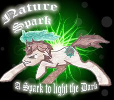 Nature Spark Photoshop by KiraNightViolet
